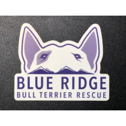 Blue Ridge Logo Sticker