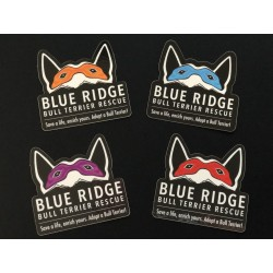 Blue Ridge Ninja Logo Stickers